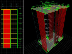 دانلود تحقیق بررسی مكانیابی دیوار برشی در پلان بر پایه تحلیلهای ارتجایی استاتیكی و دینامیكی