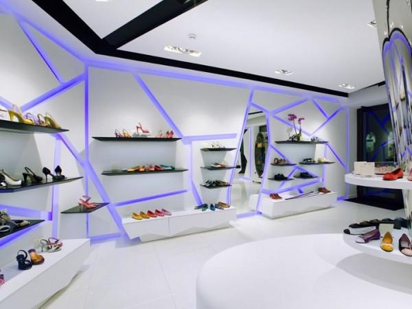 پاورپوینت طراحی داخلی فروشگاهها